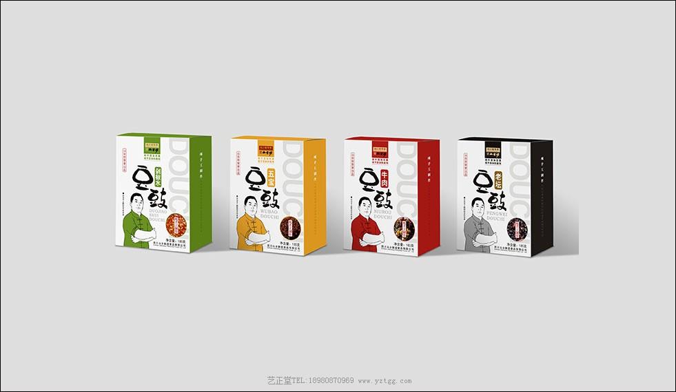 土特产调味品包装设计公司案例—山古坊
